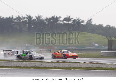 Asian Festival Of Speed, Gt Asia Main Race, Sepang Malaysia