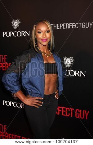 LOS ANGELES - SEP 2:  Carmelita Jeter at the