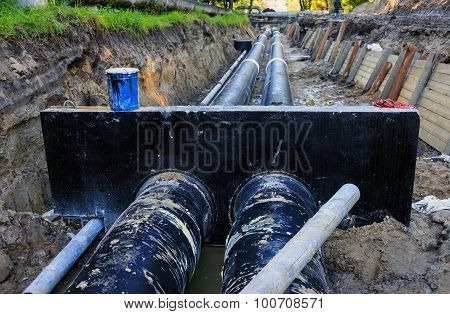 Water Pipeline Replacement (russia)