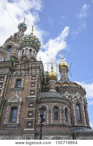 Church Of The Resurrection (savior On Spilled Blood) . St. Petersburg