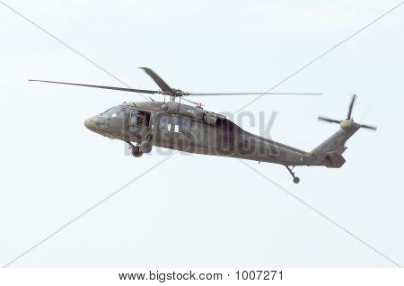 Blackhawk Flyby