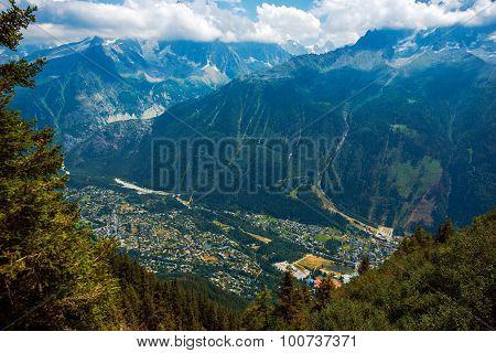 Chamonix France Cityscape