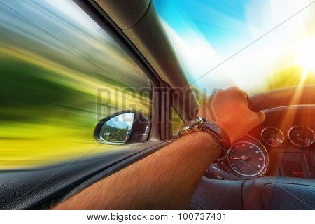 Fast Car Driving