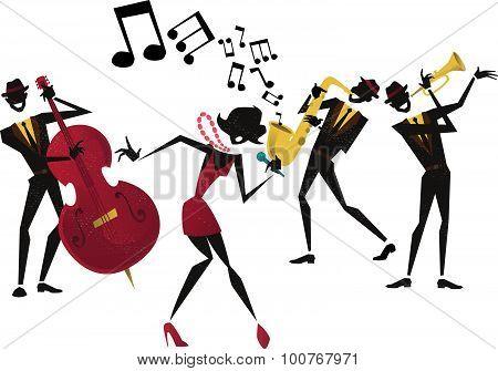 Abstract Jazz Band.