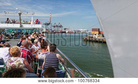 Cruise Through Rotterdam Port, The Netherlands