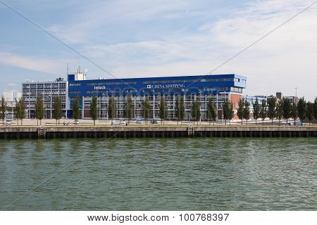 Imtech Headquarters In Rotterdam, The Netherlands