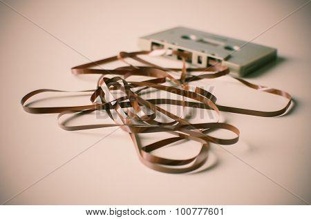 Retro Vintage Cassette Tape