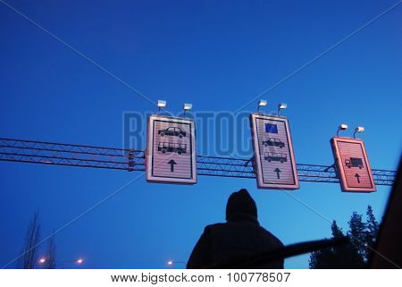At The Border Crossing Point Of European Union
