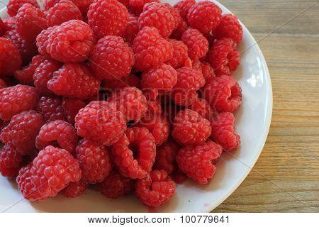 Fresh Berries Raspberry, Rubus Idaeus
