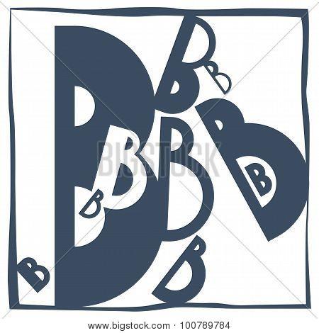 Initial Letter B