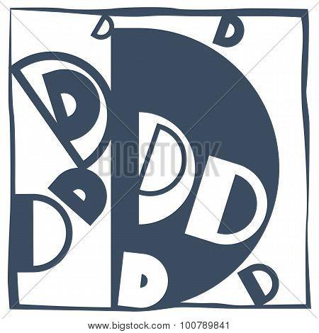 Initial Letter D
