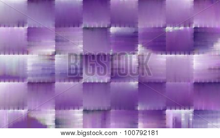 Abstract Background With Purple Squares