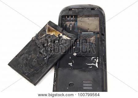 smartphone explode