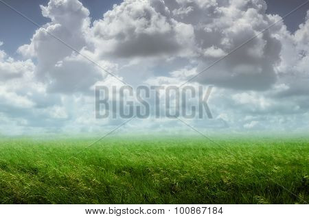 Background With A Cloudy Sky
