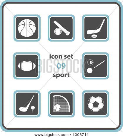 Vector Icon Set 09: Sport