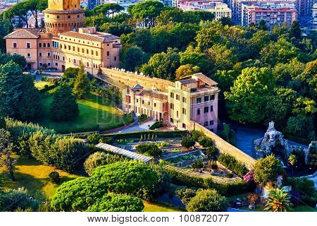 Monastery Mater Ecclesiae, Mother Of The Church, Inside Vatican City Surrounded By Vatican Gardens V
