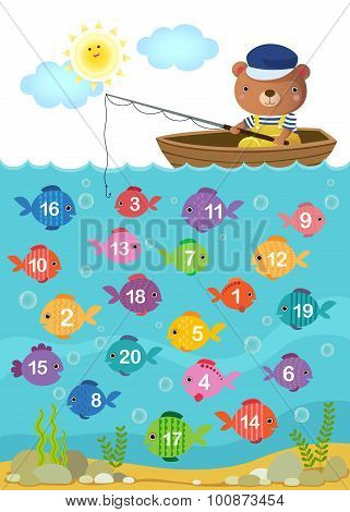 Learn Counting Number With Cute Bear
