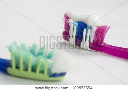 Toothbrush Paste Hygiene Health Dental Dentist Concept