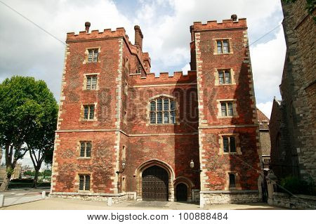 Morton's Tower gatehouse to Lambeth Palace