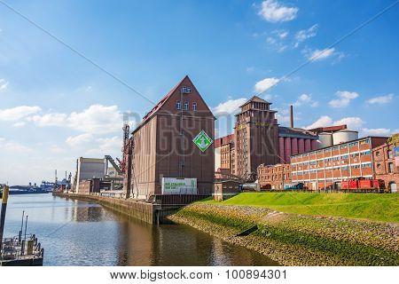 In The West Of Bremen City - Industrial Quarter