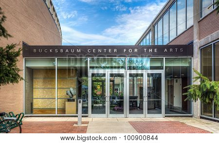 Bucksbaum Center For The Arts On The Campus Of Grinell College