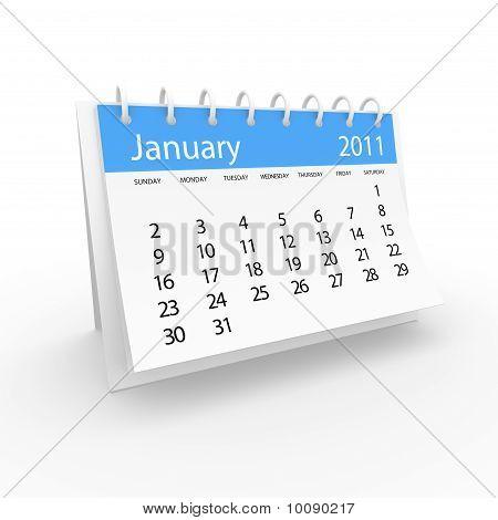 Calendar 2011 January