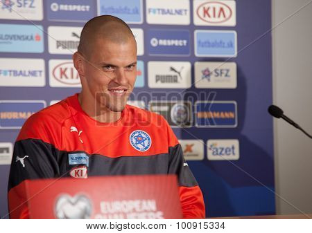 Slovak Republic Soccer Team Player Martin Škrtel