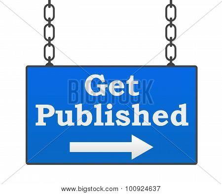 Get Published Signboard