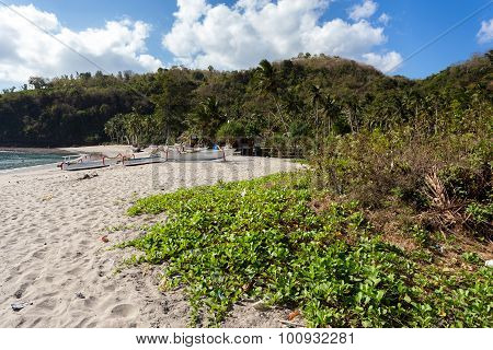 Famous Crystal Beach At Nusa Penida Island