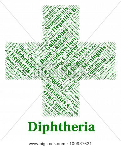 Diphtheria Illness Shows Corynebacterium Diphtheriae And Afflict