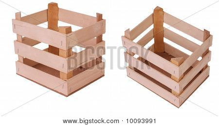 Series Of Wooden Crates