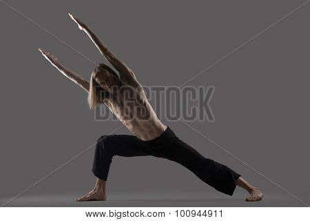 Strength Variation Of Extended Side Angle Pose