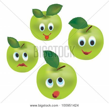 Apple Face Expressions