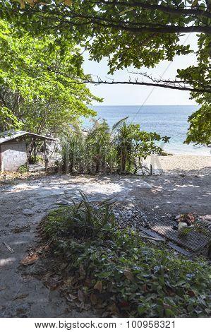 Entrance Path To Beach
