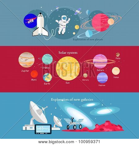 Concept Space Exploration Cosmic Industry