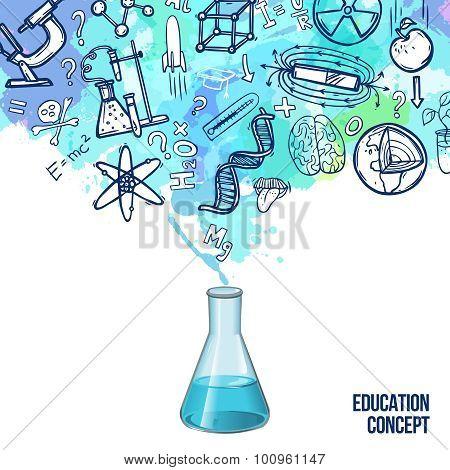 Education Concept Sketch