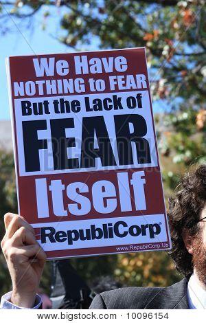 nichts zu befürchten