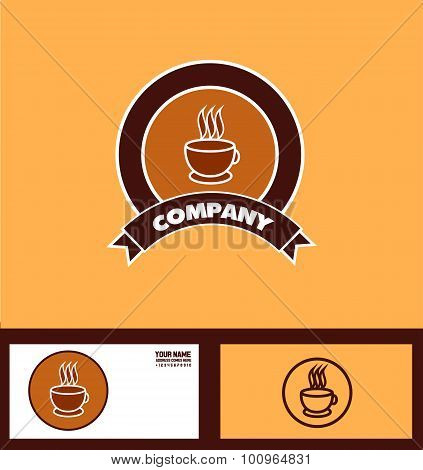 Coffee Logo Badge