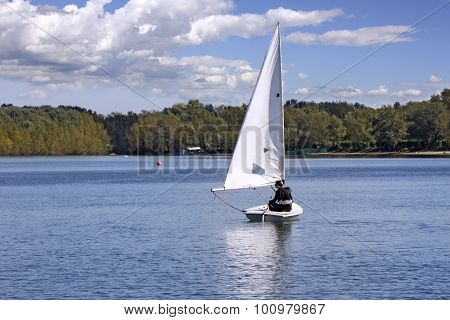 Sailing On The Lake