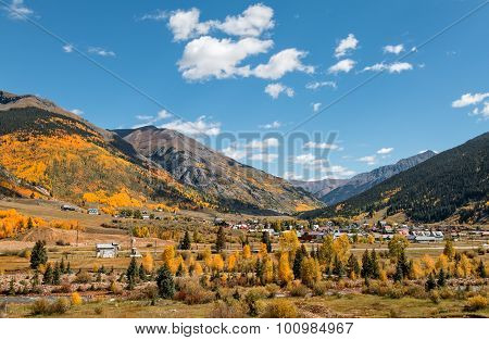 Silverton Colorado in Fall