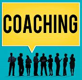 Coach Coaching Skills Teach Teaching Training Concept poster