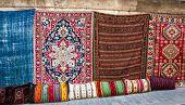 Turkish rugs shop in the Grand Bazaar poster