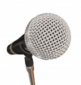Microphone on Stand Stage Performance Singing Karaoke Stand Up Comedy poster