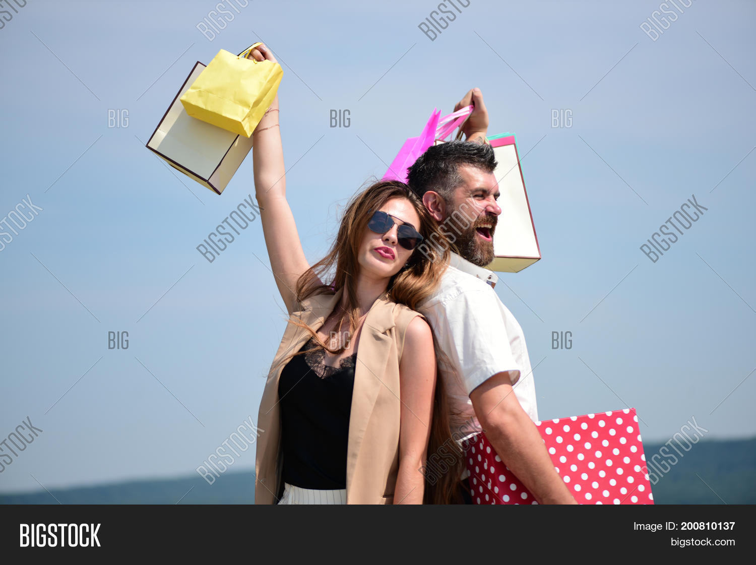 Sexy Girl Guy Happy Image & Photo (Free Trial) | Bigstock