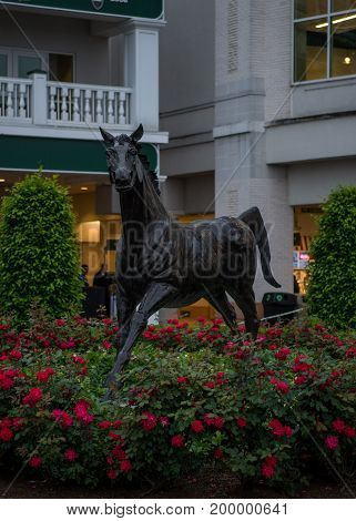 May 4 2017: Aristedes The first winner of the Kentucky Derby memorialized