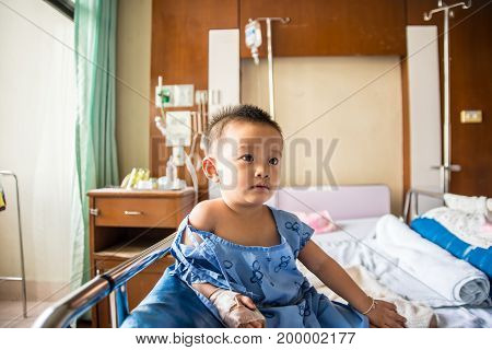 A Boy Has Got Sick.