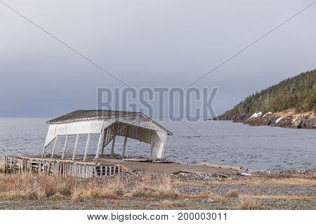 Boat Gazebo On Dock
