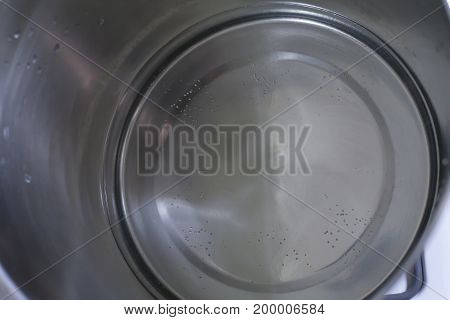Water About To Boil