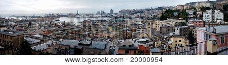 Panorama Of Genova