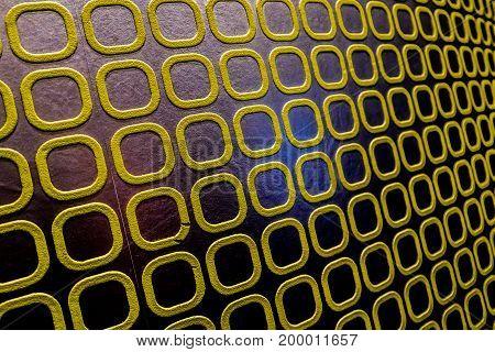 Gold wall pattern shiny background modern style